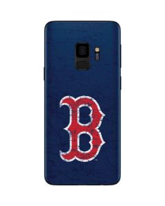 Boston Red Sox - Solid Distressed Galaxy S9 Skin