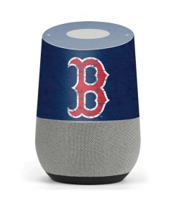 Boston Red Sox - Solid Distressed Google Home Skin