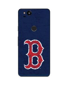 Boston Red Sox - Solid Distressed Google Pixel 2 Skin