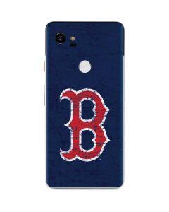Boston Red Sox - Solid Distressed Google Pixel 2 XL Skin