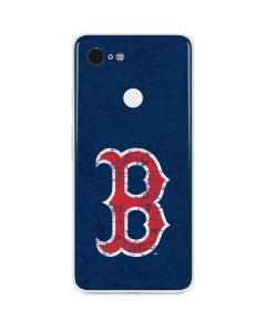 Boston Red Sox - Solid Distressed Google Pixel 3 Skin