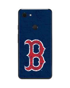 Boston Red Sox - Solid Distressed Google Pixel 3 XL Skin