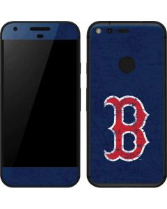 Boston Red Sox - Solid Distressed Google Pixel Skin
