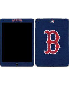 Boston Red Sox - Solid Distressed Apple iPad Air Skin