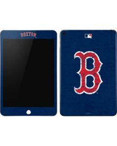 Boston Red Sox - Solid Distressed Apple iPad Mini Skin