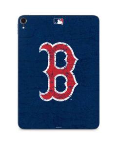 Boston Red Sox - Solid Distressed Apple iPad Pro Skin