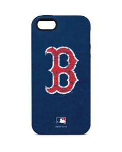 Boston Red Sox - Solid Distressed iPhone 5/5s/SE Pro Case