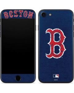 Boston Red Sox - Solid Distressed iPhone 7 Skin