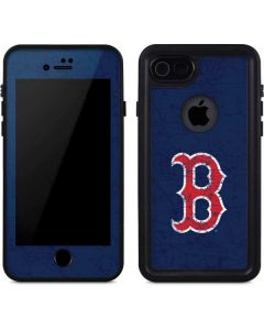 Boston Red Sox - Solid Distressed iPhone 7 Waterproof Case