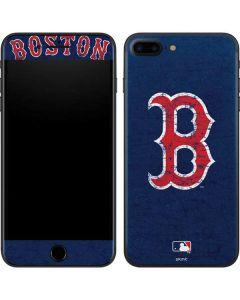 Boston Red Sox - Solid Distressed iPhone 8 Plus Skin