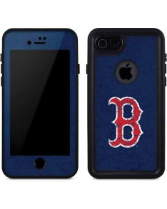Boston Red Sox - Solid Distressed iPhone 8 Waterproof Case