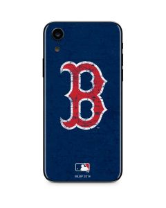 Boston Red Sox - Solid Distressed iPhone XR Skin