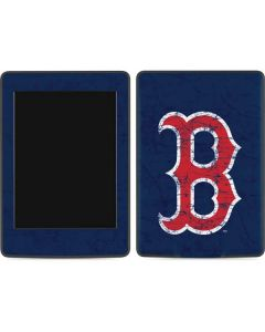 Boston Red Sox - Solid Distressed Amazon Kindle Skin