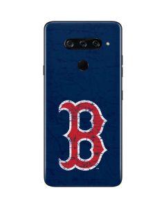 Boston Red Sox - Solid Distressed LG V40 ThinQ Skin