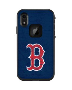 Boston Red Sox - Solid Distressed LifeProof Fre iPhone Skin