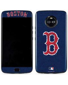 Boston Red Sox - Solid Distressed Moto X4 Skin