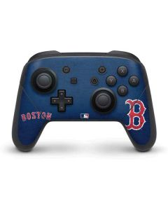 Boston Red Sox - Solid Distressed Nintendo Switch Pro Controller Skin