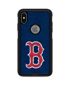 Boston Red Sox - Solid Distressed Otterbox Commuter iPhone Skin