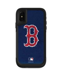 Boston Red Sox - Solid Distressed Otterbox Pursuit iPhone Skin