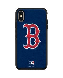 Boston Red Sox - Solid Distressed Otterbox Symmetry iPhone Skin