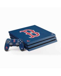 Boston Red Sox - Solid Distressed PS4 Pro Bundle Skin