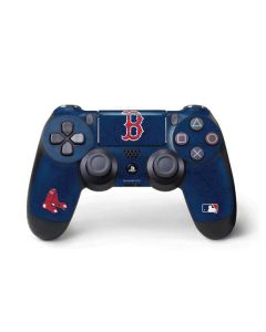 Boston Red Sox - Solid Distressed PS4 Pro/Slim Controller Skin