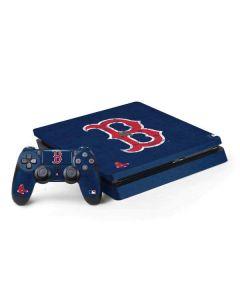 Boston Red Sox - Solid Distressed PS4 Slim Bundle Skin