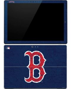 Boston Red Sox - Solid Distressed Surface Pro 4 Skin