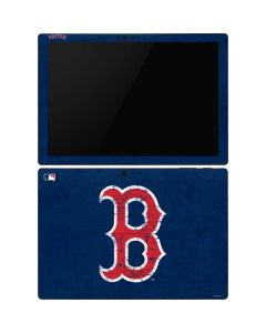 Boston Red Sox - Solid Distressed Surface Pro 6 Skin