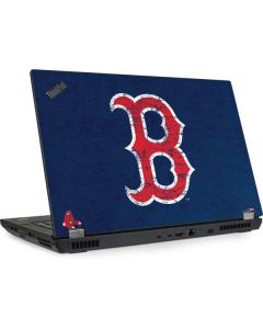 Boston Red Sox - Solid Distressed Lenovo ThinkPad Skin