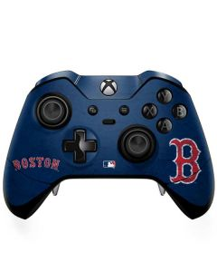 Boston Red Sox - Solid Distressed Xbox One Elite Controller Skin