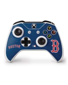 Boston Red Sox - Solid Distressed Xbox One S Controller Skin