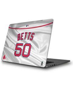 Boston Red Sox Betts #50 Apple MacBook Pro Skin