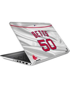 Boston Red Sox Betts #50 HP Pavilion Skin