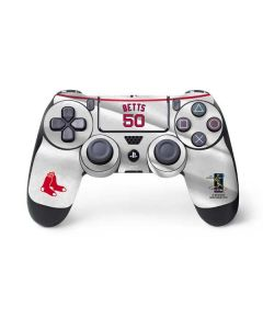Boston Red Sox Betts #50 PS4 Controller Skin