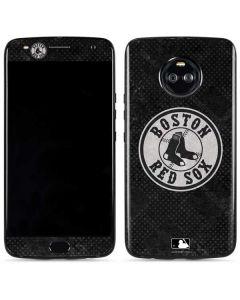 Boston Red Sox Dark Wash Moto X4 Skin