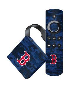 Boston Red Sox Digi Camo Amazon Fire TV Skin