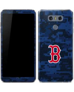 Boston Red Sox Digi Camo LG G6 Skin