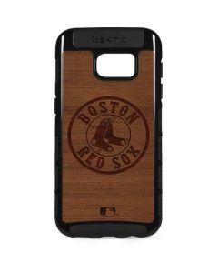 Boston Red Sox Engraved Galaxy S7 Edge Cargo Case