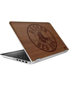 Boston Red Sox Engraved HP Pavilion Skin