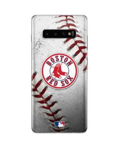 Boston Red Sox Game Ball Galaxy S10 Plus Skin