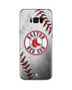Boston Red Sox Game Ball Galaxy S8 Plus Skin