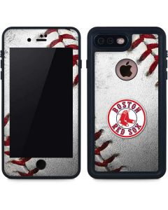 Boston Red Sox Game Ball iPhone 8 Plus Waterproof Case