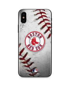 Boston Red Sox Game Ball iPhone X Skin