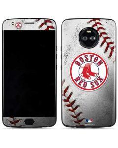 Boston Red Sox Game Ball Moto X4 Skin