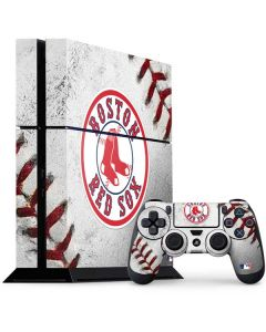Boston Red Sox Game Ball PS4 Console and Controller Bundle Skin