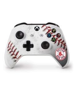 Boston Red Sox Game Ball Xbox One S Controller Skin