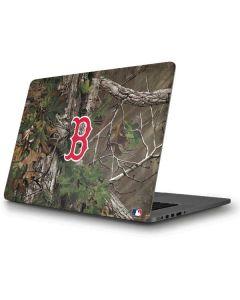Boston Red Sox Realtree Xtra Green Camo Apple MacBook Pro Skin