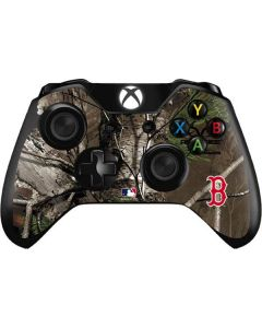 Boston Red Sox Realtree Xtra Green Camo Xbox One Controller Skin