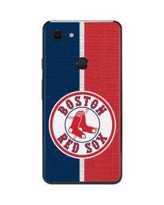 Boston Red Sox Split Google Pixel 3 XL Skin